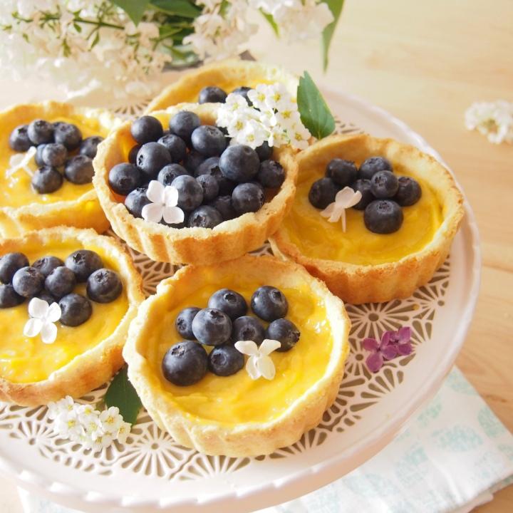 Tartaletky s citronovým krémem