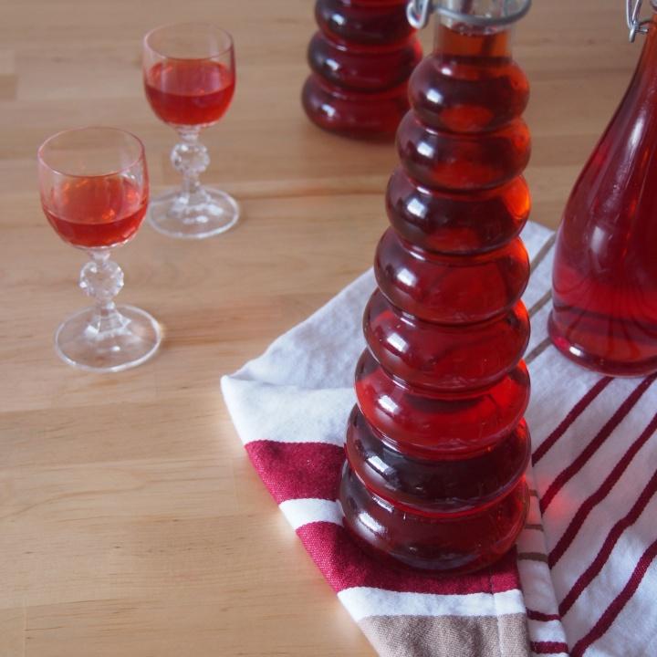 Domácí jahodový likér z bílého rumu