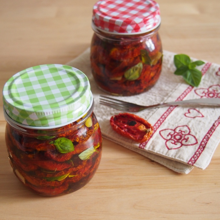 Domácí sušená rajčata