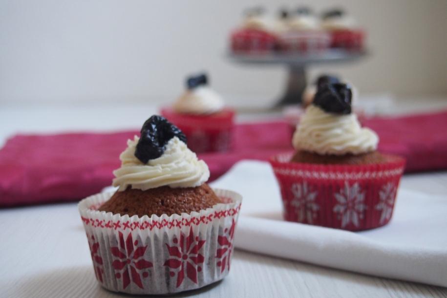 Zimní perníkové cupcakes